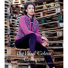 Buy Rowan Big Wool Colour Collection Knitting Pattern Booklet Online at johnlewis.com
