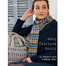 Buy Rowan Easy Little Fairisle Knits by Martin Storey Knitting Book Online at johnlewis.com