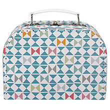 Buy RJB Stone, Geometric Suitcase, Small Online at johnlewis.com