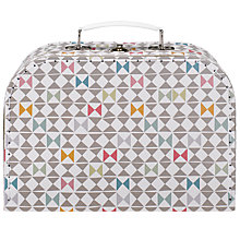 Buy RJB Stone, Geometric Suitcase, Medium Online at johnlewis.com