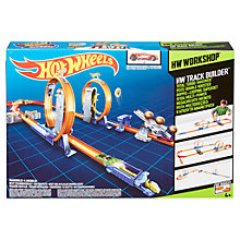 Buy Hot Wheels Workshop Total Turbo Takeover Track Builder Online at johnlewis.com