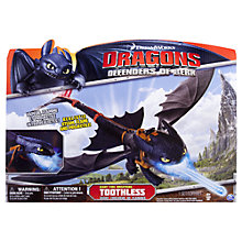 Buy How To Train Your Dragon: Dragons Defenders of Berk, Giant Toothless Figure Online at johnlewis.com