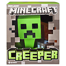 Buy Minecraft Vinyl Creeper, Assorted Online at johnlewis.com