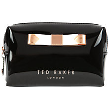 Buy Ted Baker Piave Small Bow Wash Bag Online at johnlewis.com