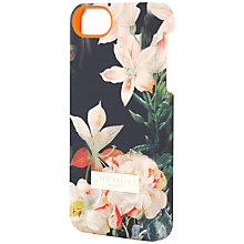 Buy Ted Baker Salso Opulent Bloom Iphone 5 Case, Black Online at johnlewis.com