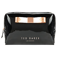 Buy Ted Baker Montone Large Bow Wash Bag Online at johnlewis.com