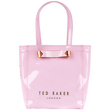Buy Ted Baker Revcon Small Bow Shopper Bag Online at johnlewis.com