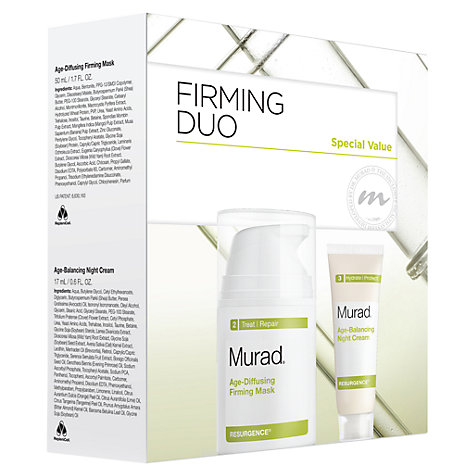 Buy Murad Glowing Value Firming Duo Set Online at johnlewis.com