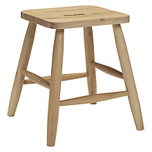 Buy John Lewis Croft Collection Country Low Stool Online at johnlewis.com