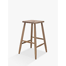 Buy John Lewis Croft Collection Kyla High Stool, Natural Online at johnlewis.com
