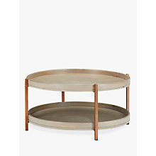 Buy John Lewis Asha Iron Tray Coffee Table Online at johnlewis.com