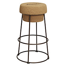 Buy John Lewis Bouchon Bar Stool, Cork Online at johnlewis.com