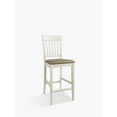 John Lewis Alba Bar Chair, Soft Grey