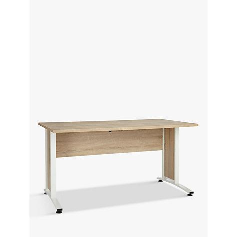 Buy john lewis estelle 150cm desk john lewis - Long office desk ...