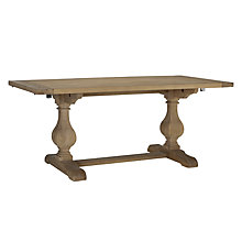Buy John Lewis Marcelle Pedestal 6-10 Seater Extending Dining Table Online at johnlewis.com