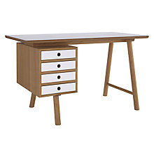 Buy Says Who for John Lewis Why Wood Desk Online at johnlewis.com