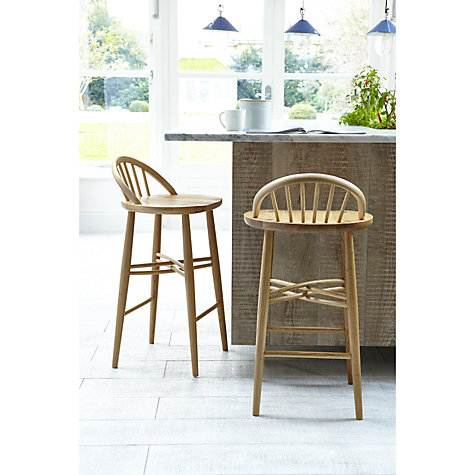 Buy Ercol For John Lewis Chiltern Bar Chair Natural John Lewis