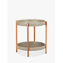 Buy John Lewis Asha Iron Tray Side Table Online at johnlewis.com