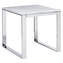 Buy John Lewis Frost Marble Side Table Online at johnlewis.com