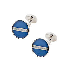 Buy BOSS Norberto Cufflinks Online at johnlewis.com
