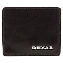 Buy Diesel Contrast Leather Card Holder Online at johnlewis.com
