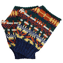 Buy JOHN LEWIS & Co. Made in England Fair Isle Gloves, One Size, Multi Online at johnlewis.com
