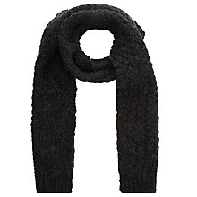 Buy JOHN LEWIS & Co. Made in England Double Moss Scarf, Charcoal Online at johnlewis.com
