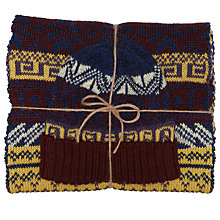 Buy JOHN LEWIS & Co. Made in England Scarf and Hat Gift Set, Multi Online at johnlewis.com