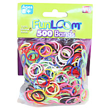 Buy FunLoom Bands, Pack of 500 Online at johnlewis.com