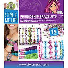 Buy Style Me Up Friendship Bracelets Kit Online at johnlewis.com