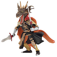 Buy Papo Figurines: Fire Dragon Man Online at johnlewis.com