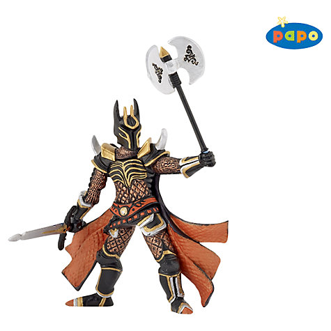 Buy Papo Figurines: Knight With Triple Battle Axe Online at johnlewis.com