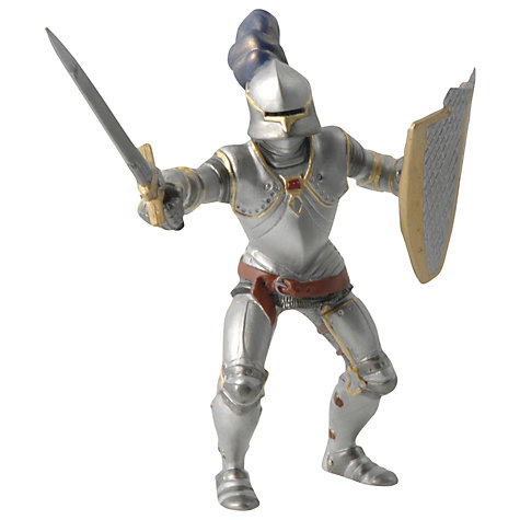 Buy Papo Figurines: Knight In Blue Armour Online at johnlewis.com