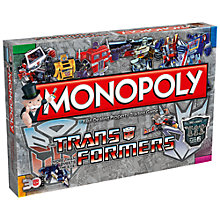 Buy Monopoly Transformers Edition Game Online at johnlewis.com