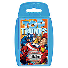 Buy Top Trumps Cards, Marvel Characters Online at johnlewis.com