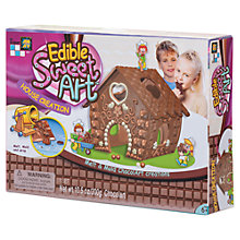 Buy Edible Sweet Art Chocolate House Creation Online at johnlewis.com