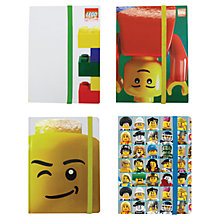 Buy LEGO Classic Notebook, Assorted Online at johnlewis.com