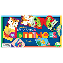 Buy Eeboo Life on Earth Dominoes Online at johnlewis.com
