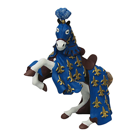 Buy Papo Figurines: Prince Philip Horse, Blue Online at johnlewis.com