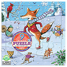 Buy Eeboo Snowy Day Puzzle Online at johnlewis.com