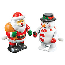 Buy Christmas Wind-Up Characters, Assorted Online at johnlewis.com