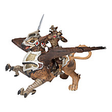 Buy Papo Figurines: Running Bird Man and Griffin Online at johnlewis.com