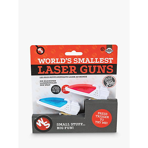 Buy World's Smallest Laser Gun, Assorted Online at johnlewis.com