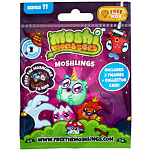 Buy Moshi Monsters Moshlings Figures, Assorted Online at johnlewis.com