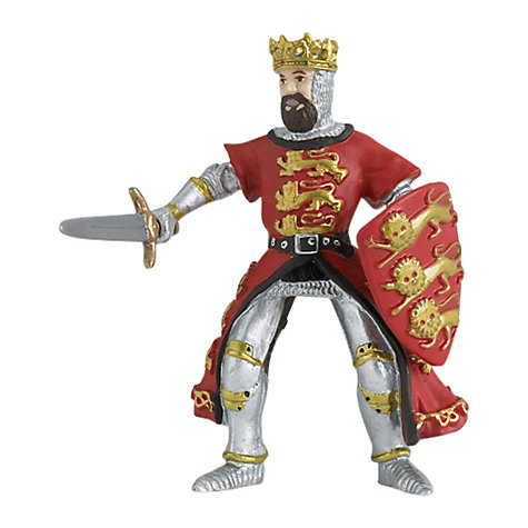 Buy Papo Figurines: King Richard, Red Online at johnlewis.com