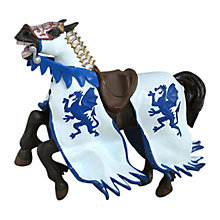 Buy Papo Figurines: Dragon King Horse, Blue Online at johnlewis.com