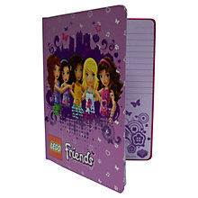 Buy LEGO Friends Notebook, Assorted Online at johnlewis.com