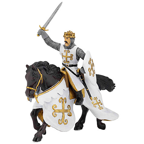 Buy Papo Figurines: Chainmail Horse Online at johnlewis.com