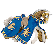 Buy Papo Figurines: Prince Richard Horse, Blue Online at johnlewis.com