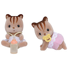 Buy Sylvanian Families Walnut Squirrel Twins Online at johnlewis.com